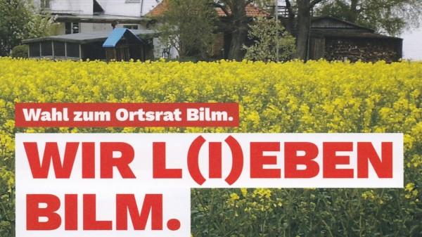 Wahlprogramm Bilm