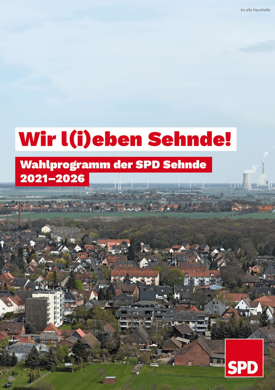 Wahlprogramm SPD Sehnde